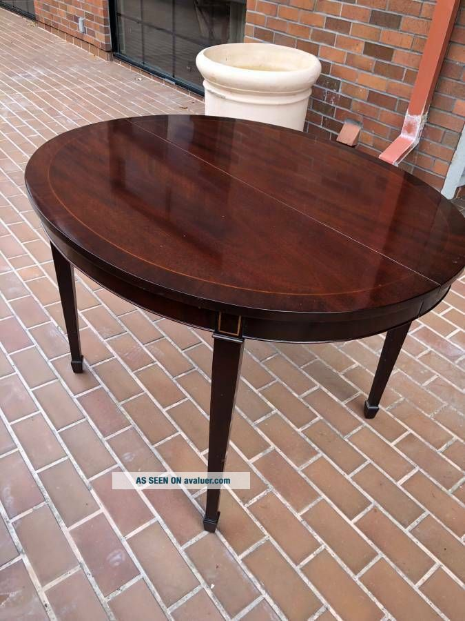 KINDEL Federal Inlaid Mahogany Dining Room Table - IT IS A STEAL
