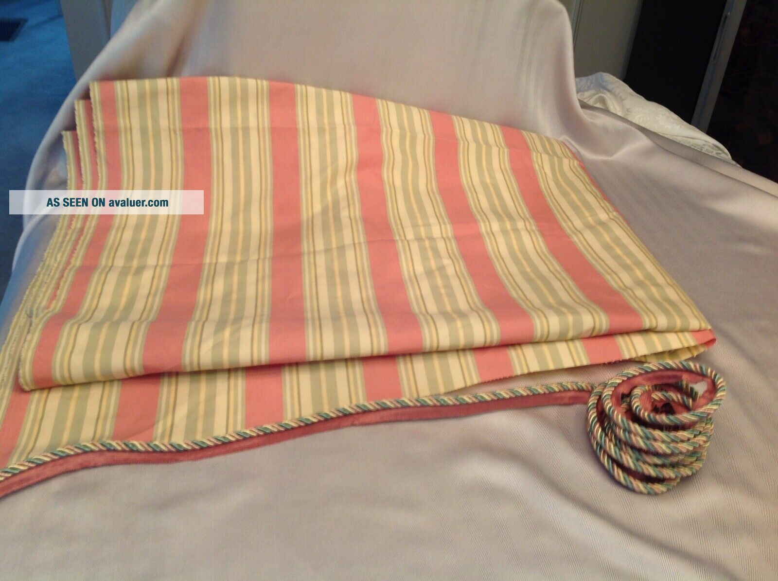 Mackenzie Childs Fabric and Coordinating Cording