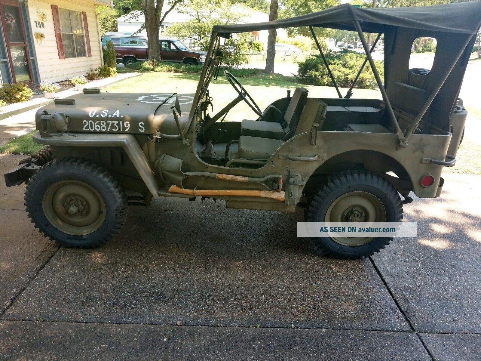 World War II 1945 Willy ' s Jeep