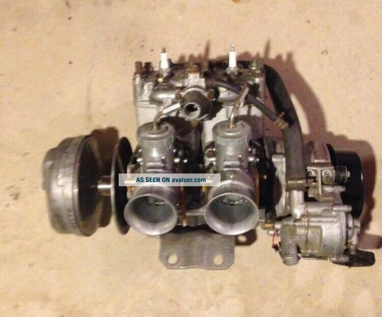 Yamaha Snowmobile 1978 SSR 440 Engine SRX GPX