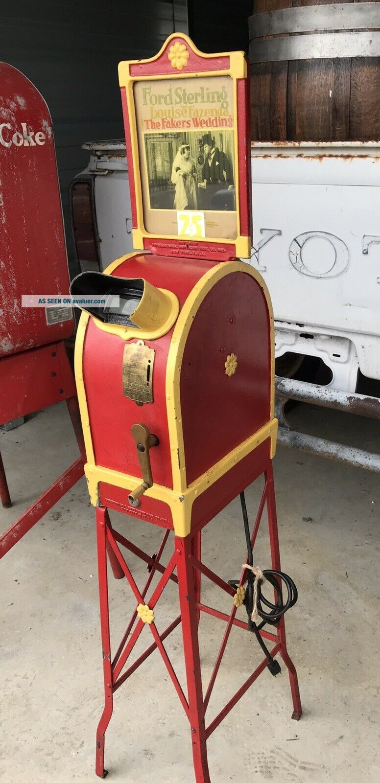 = Antique International Mutoscope Reel Co.  Motion Picture Device