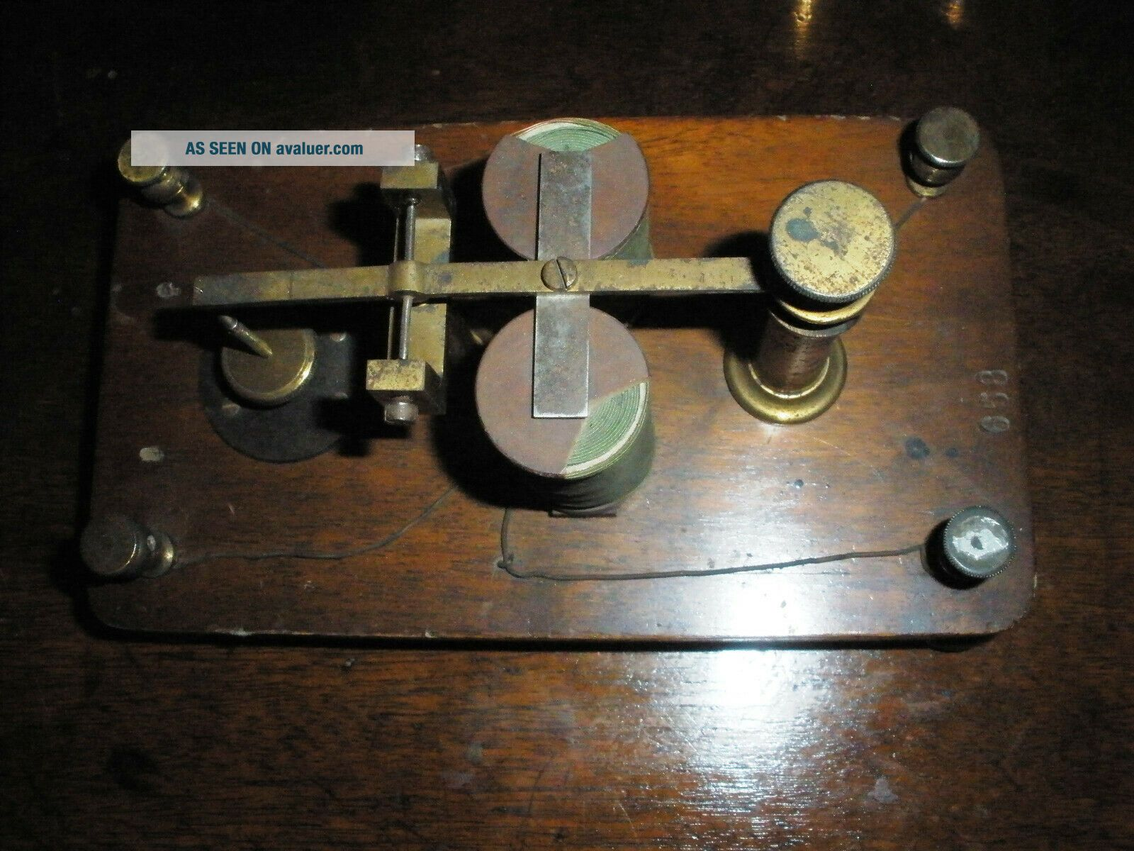 Very ancient telegraph