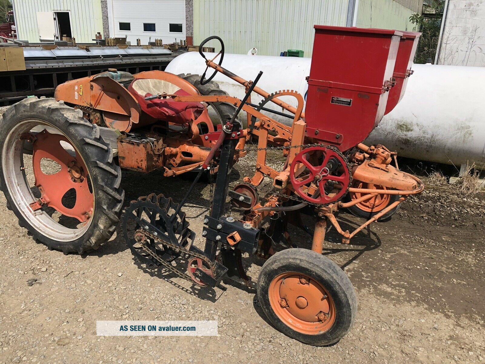 Allis Chalmers Model G Antique Tractor