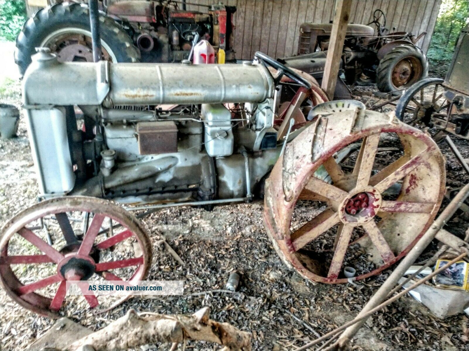 Antique Fordson Tractor Agriculture