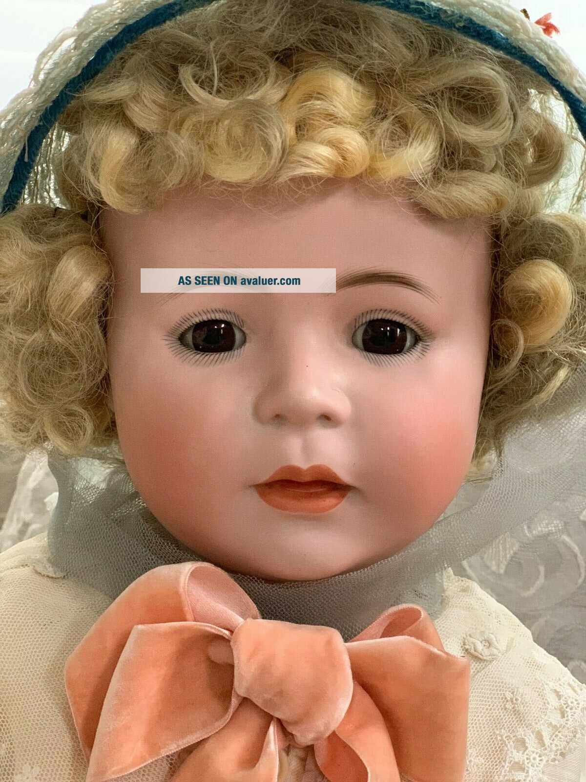 VERY RARE Large Antique German 1488 Character Simon & Halbig Baby Doll