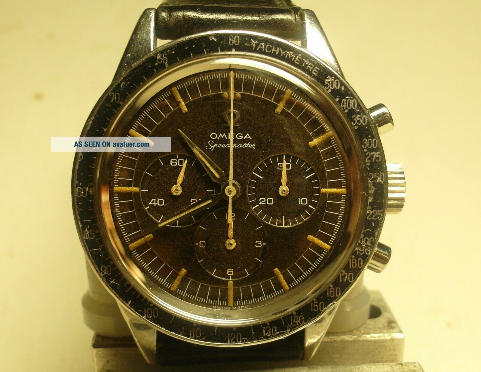 OMEGA SPEEDMASTER 2998 - 3;cal.  321;1960/61;Serviced Movement Outstanding;RARE