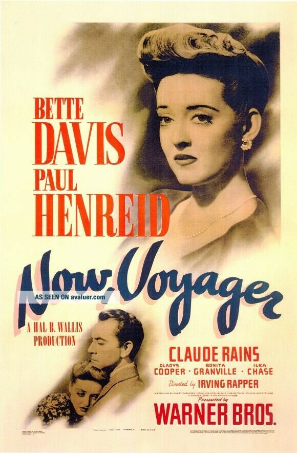 Vintage Movie 16mm Now Voyager Feature 1942 Film Adventure Drama