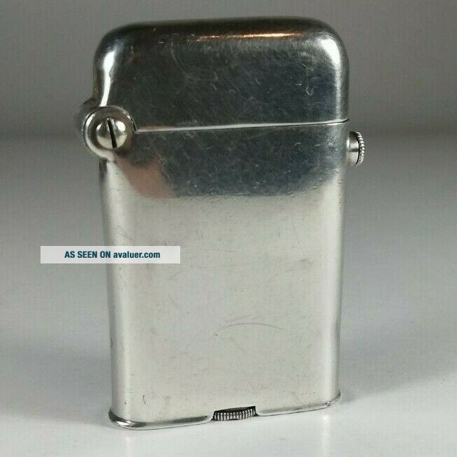 Thorens Antique Hallmark Silver Thorens.  925 solid silver base lid and hinge
