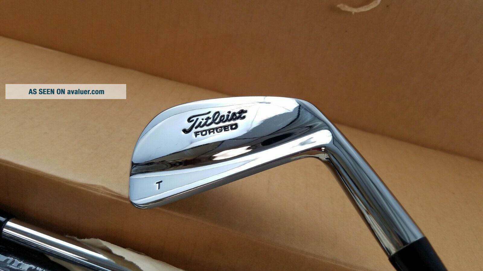 Rare 2001 Titleist Limited Edition Tiger Woods 681T Iron Set 2 - PW
