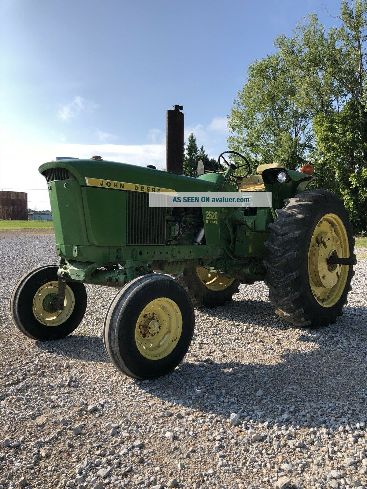 1972 John Deere 2520 Rare 425 From Last One Made
