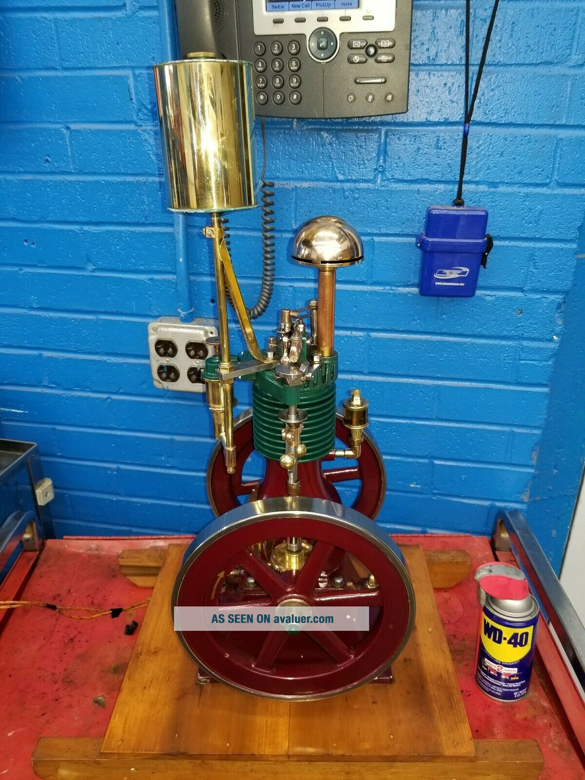 Rare Perkins Model Hit and Miss Gas Engine