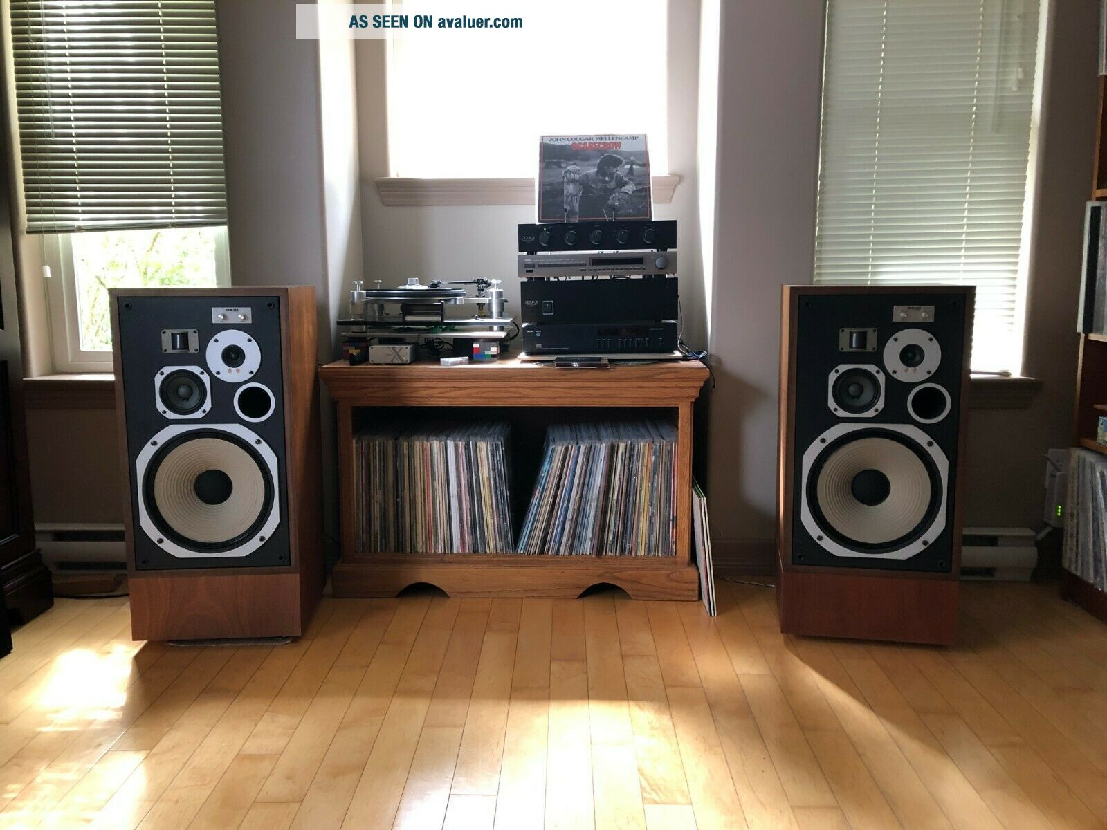 Pioneer HPM - 100 200w Vintage Speakers - Magnificent and Sound