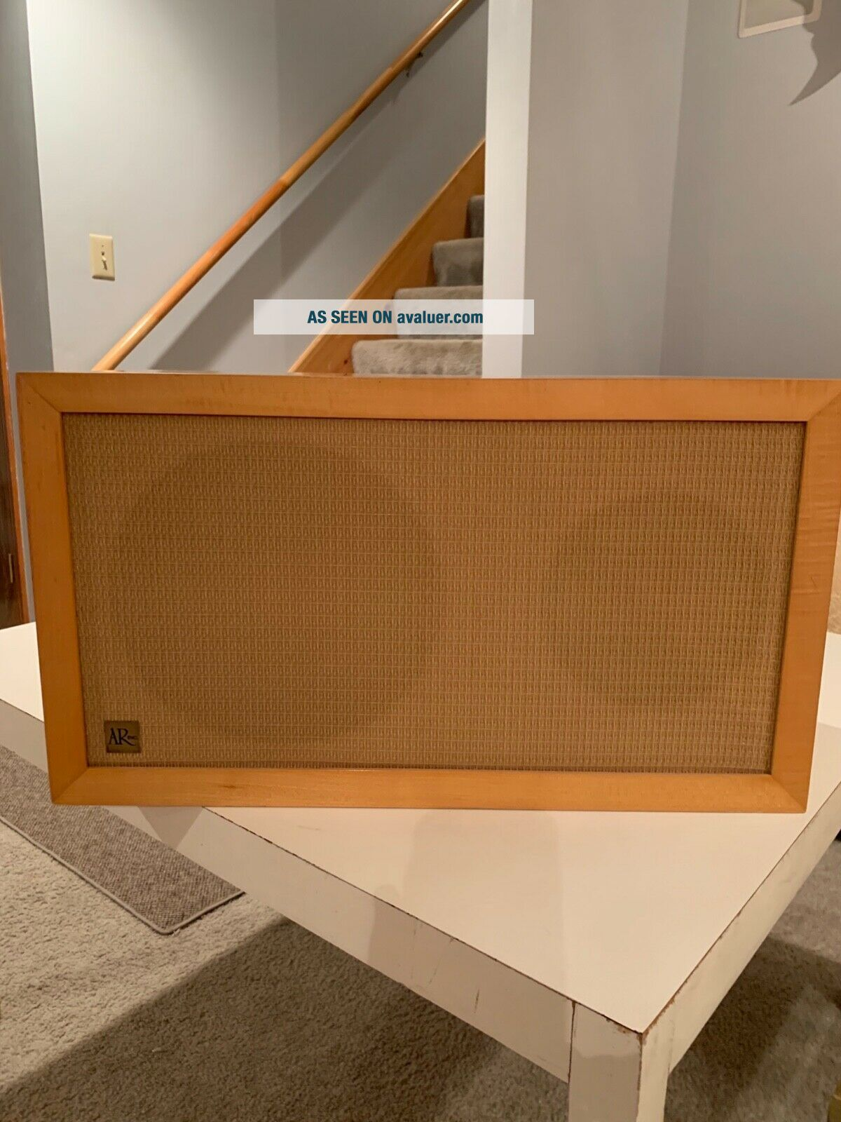 Vintage Acoustic Suspension Loudspeaker System,  2 speakers