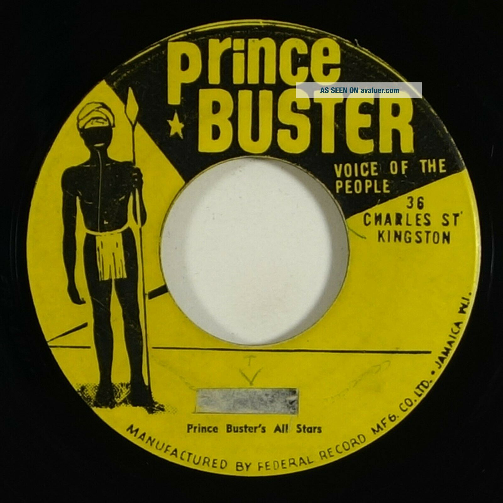 Prince Buster/Movers