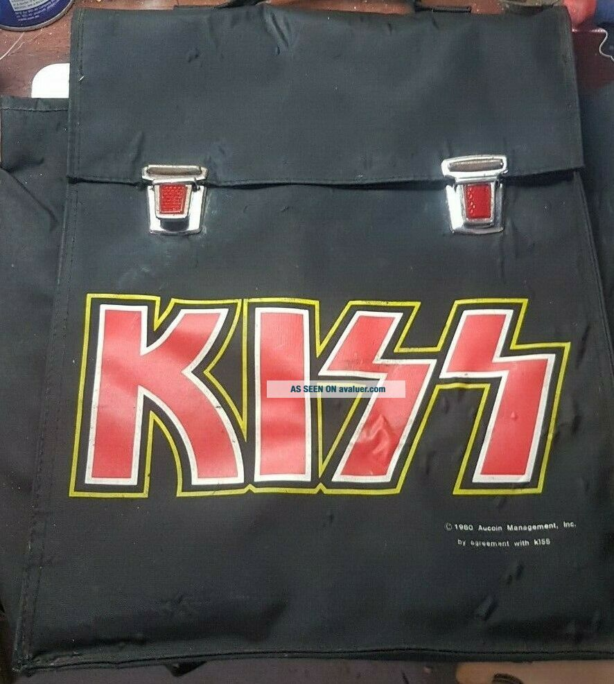 KISS VINTAGE AUSTRALIAN RELEASE 1980 AUCOIN BACKPACK ULTRA RARE