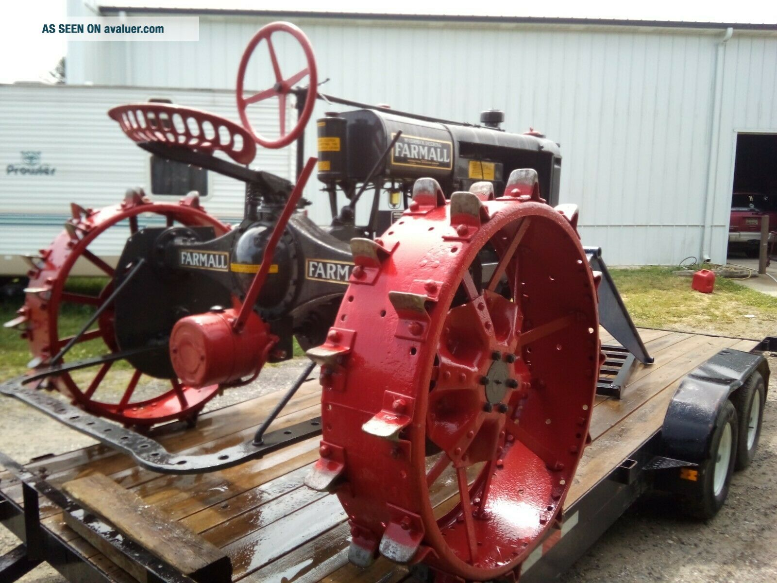1930 Farmall Tractor Gorgeous Vintage Includes Front loader