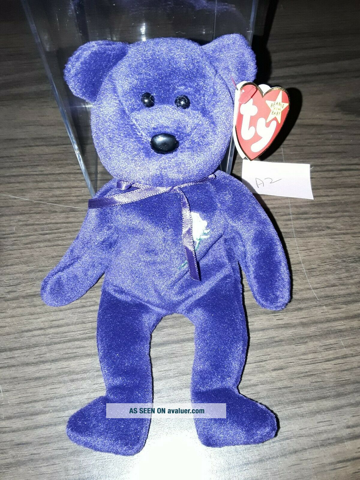 Ultra rare Princess Diana Ty Beanie Baby P V C Made In Indonesia Version