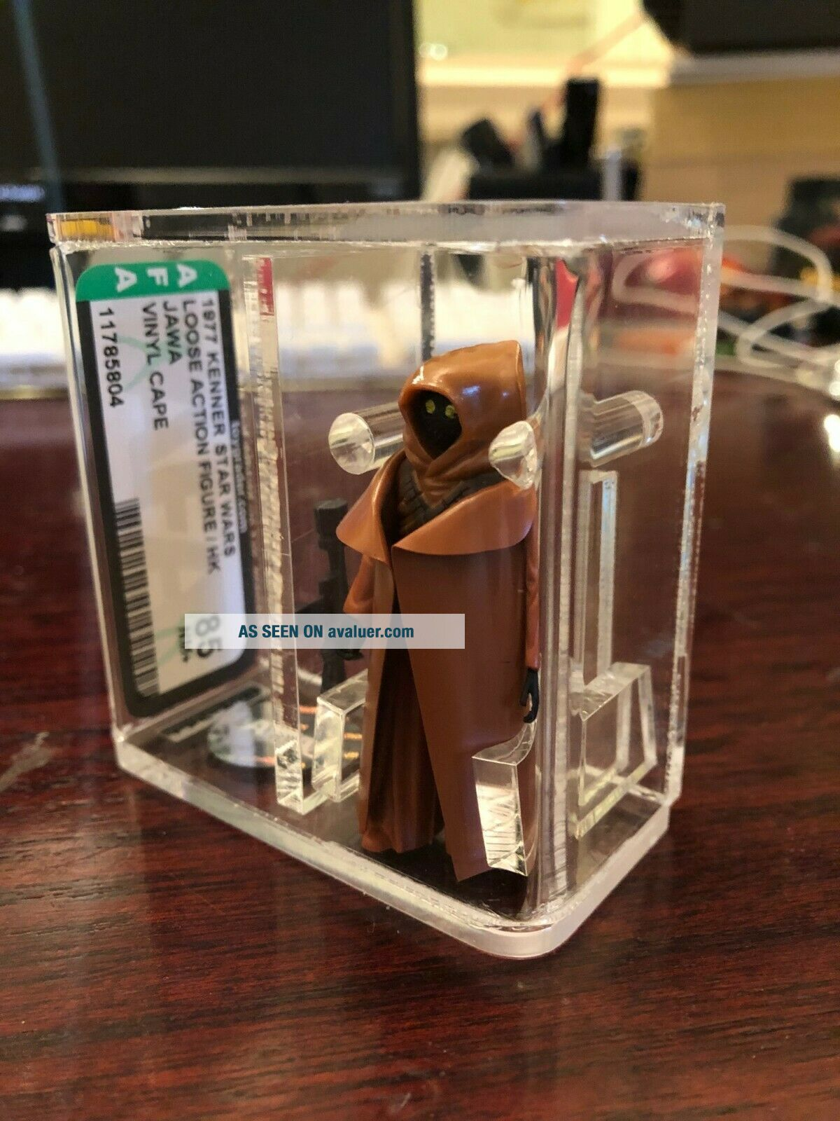 Vintage Star Wars Loose VINYL CAPE JAWA AFA 85 &