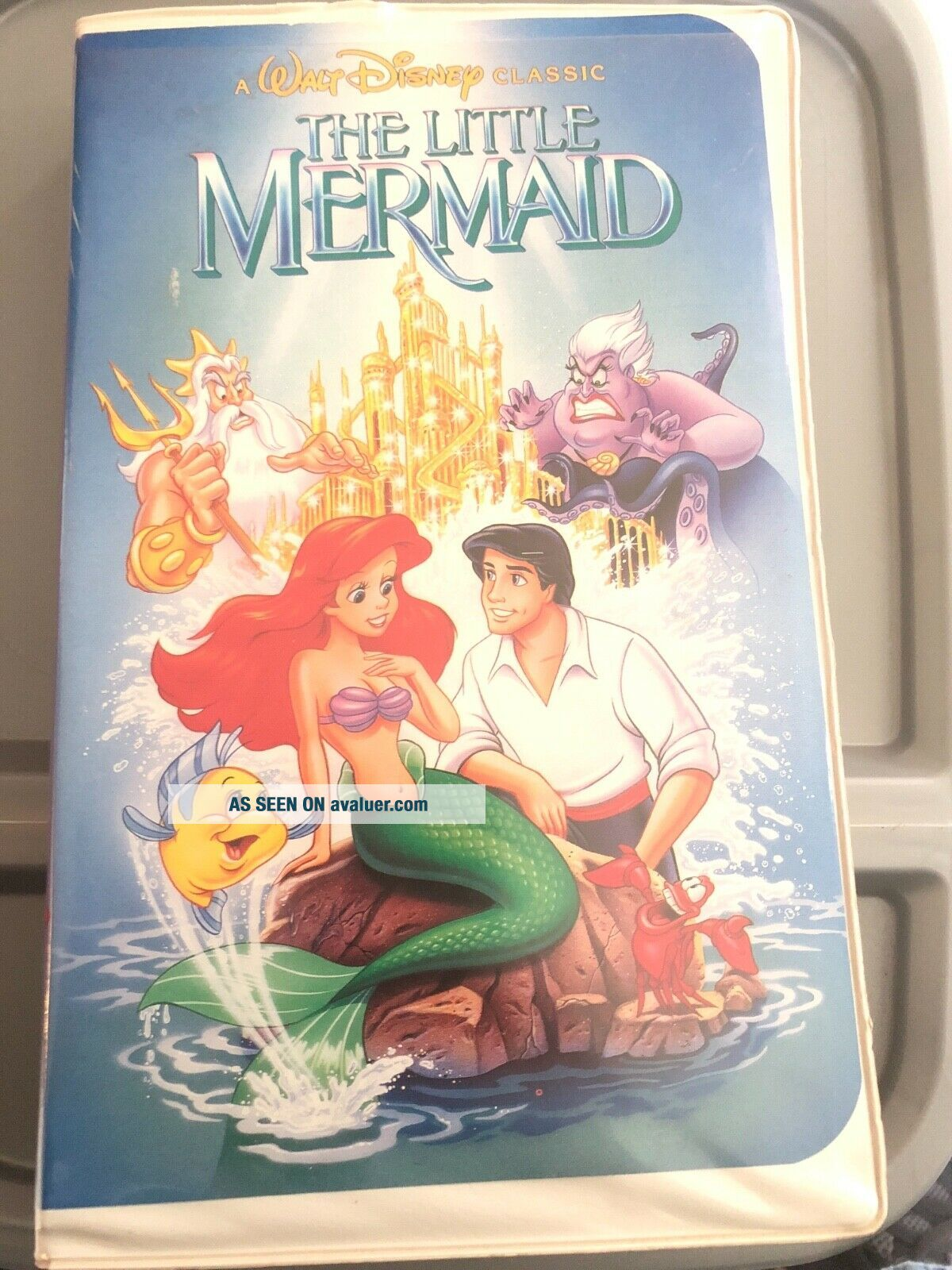 The Little Mermaid (VHS,  1990) Rare Banned Cover