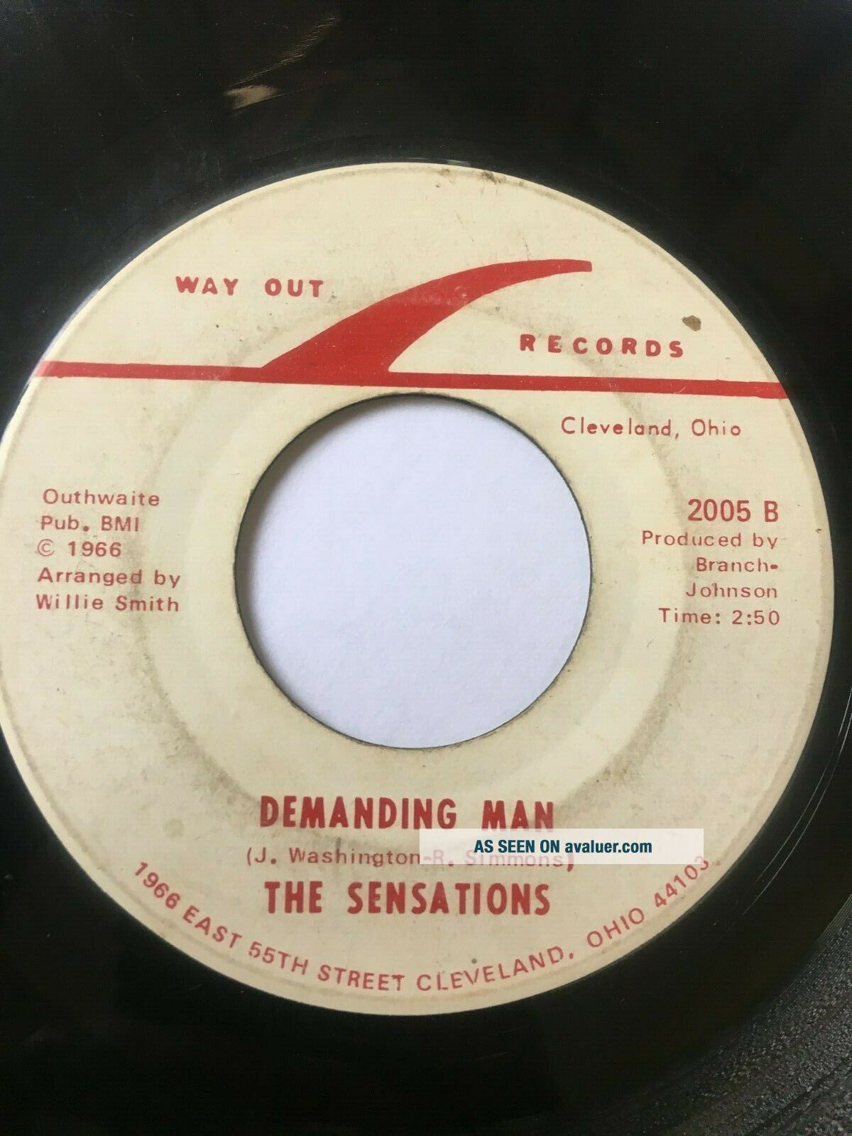 Monster RARE Northern Soul 45/ Sensations