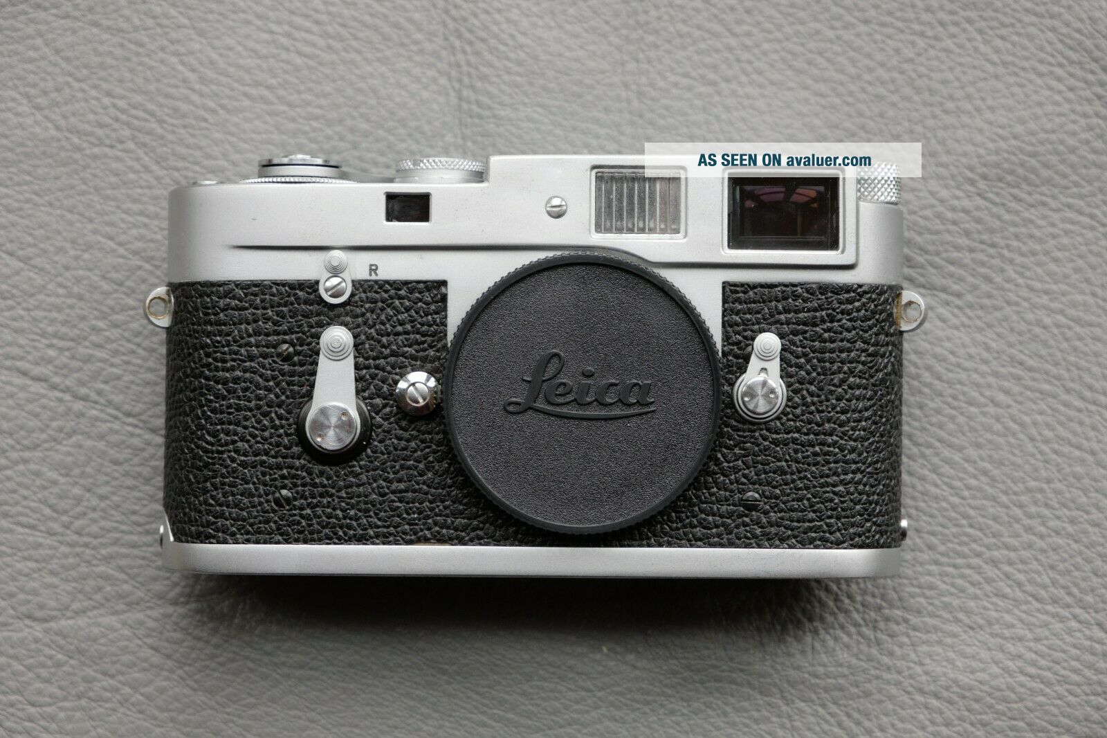 Leica M2 - R (M2 with M4 rapid load) rangefinder camera - rare CLA ' d and