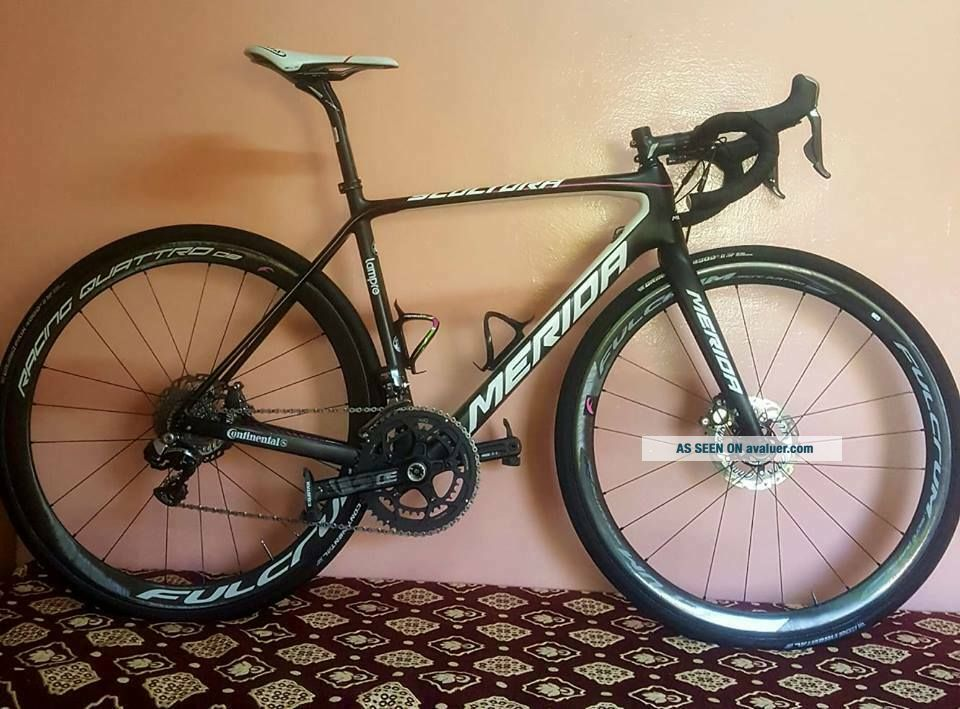 Rare Merida Scultura disc bike dura ace di2 Pro Team 2017 size 53 s dogma