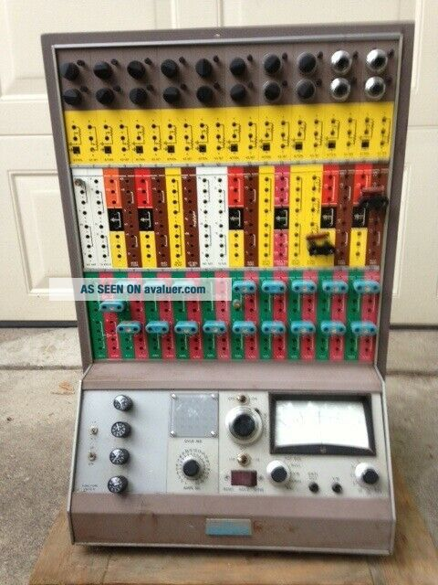 PACE TR - 10 Vintage 1960 ' s Transistorized Analog Computer