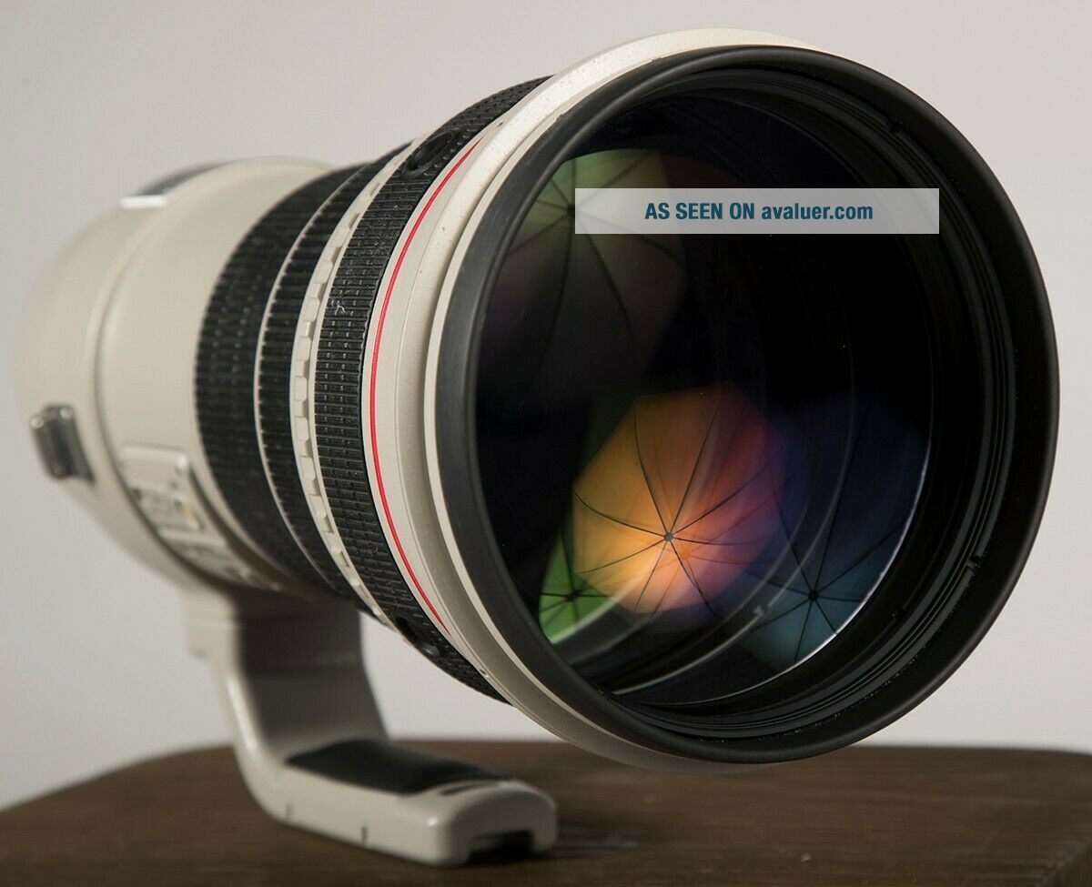 Canon EF 400mm f/2.  8 L IS USM Lens (- Rarely)