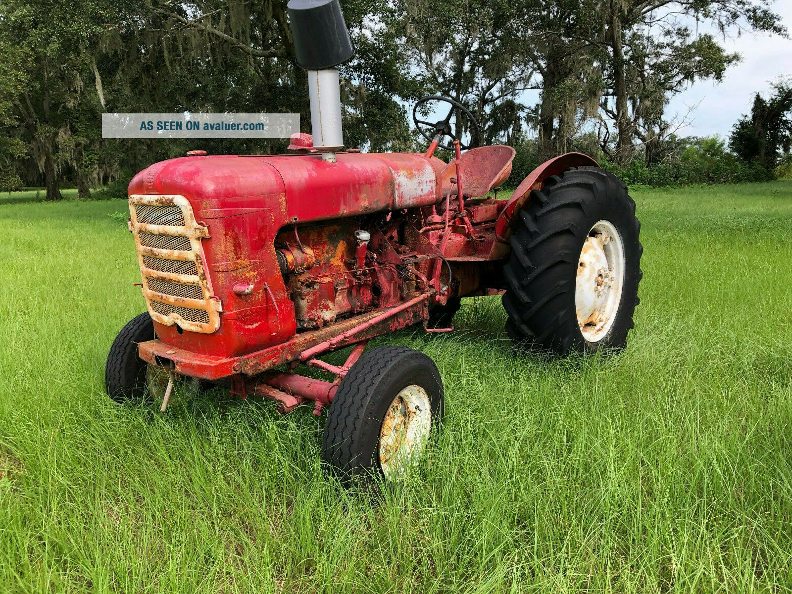 Someca 45 Diesel Tractor RARE French Farm Equipment