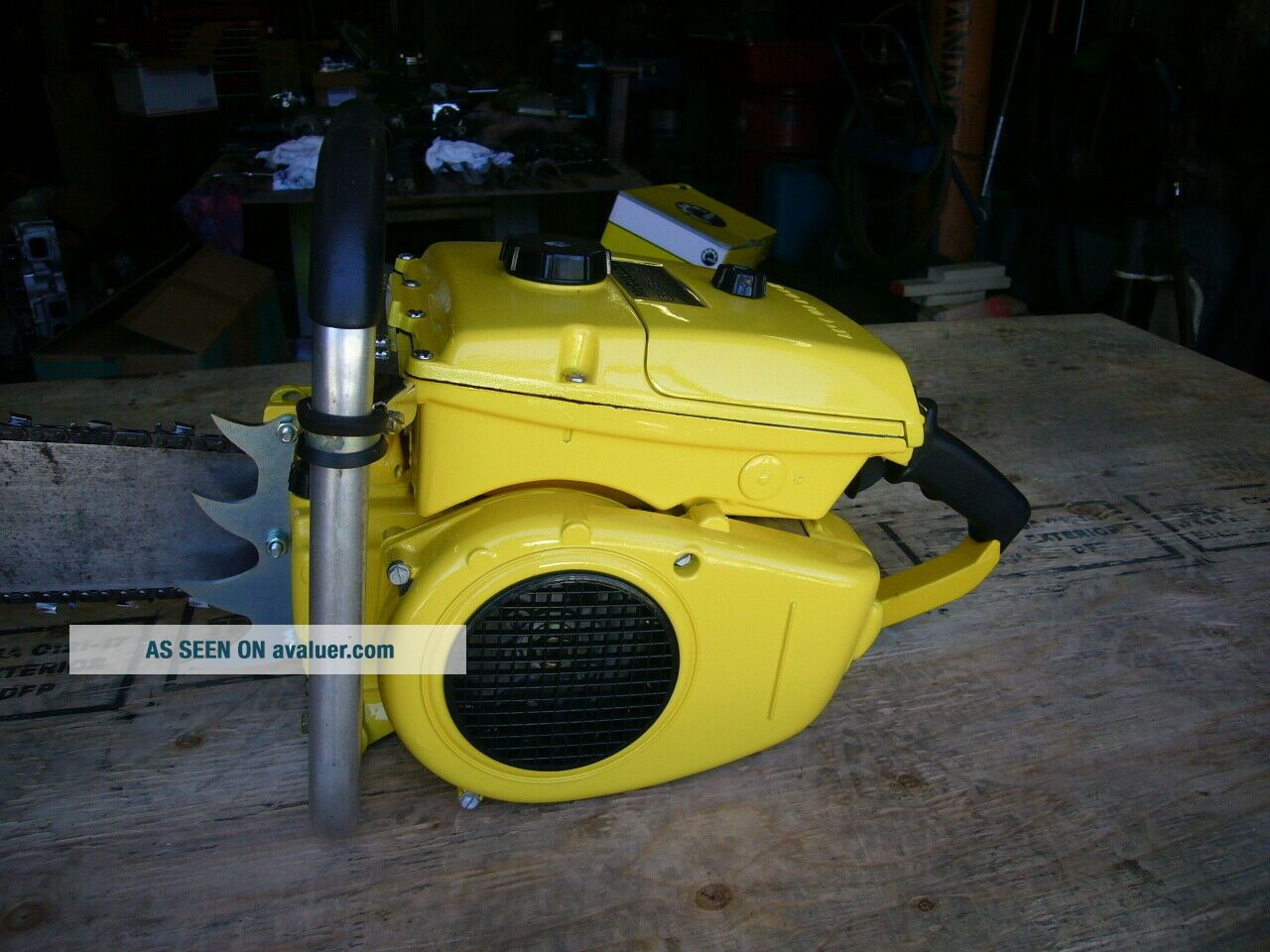 Mcculloch 797 vintage muscle chainsaw 123cc ' s