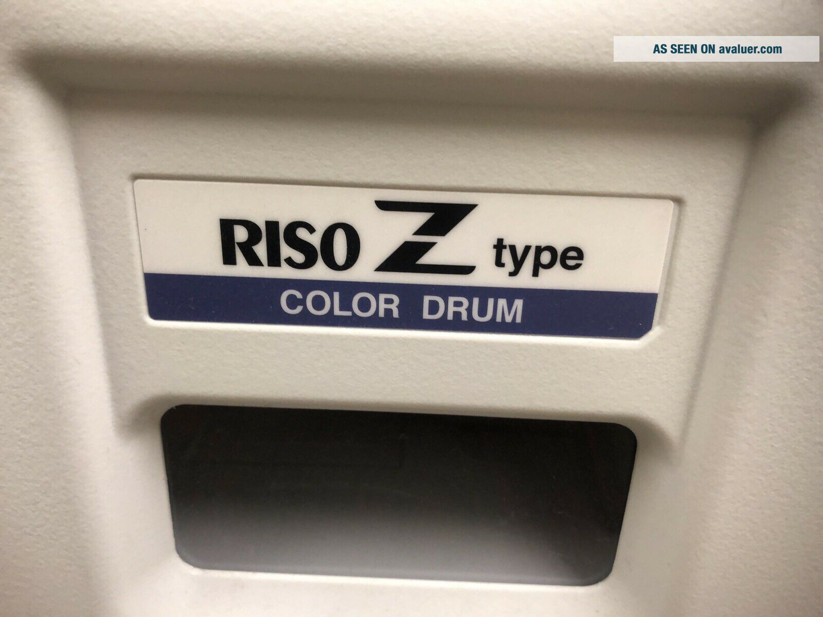 Rarely Riso Z Type Color Drum Risograph - RED