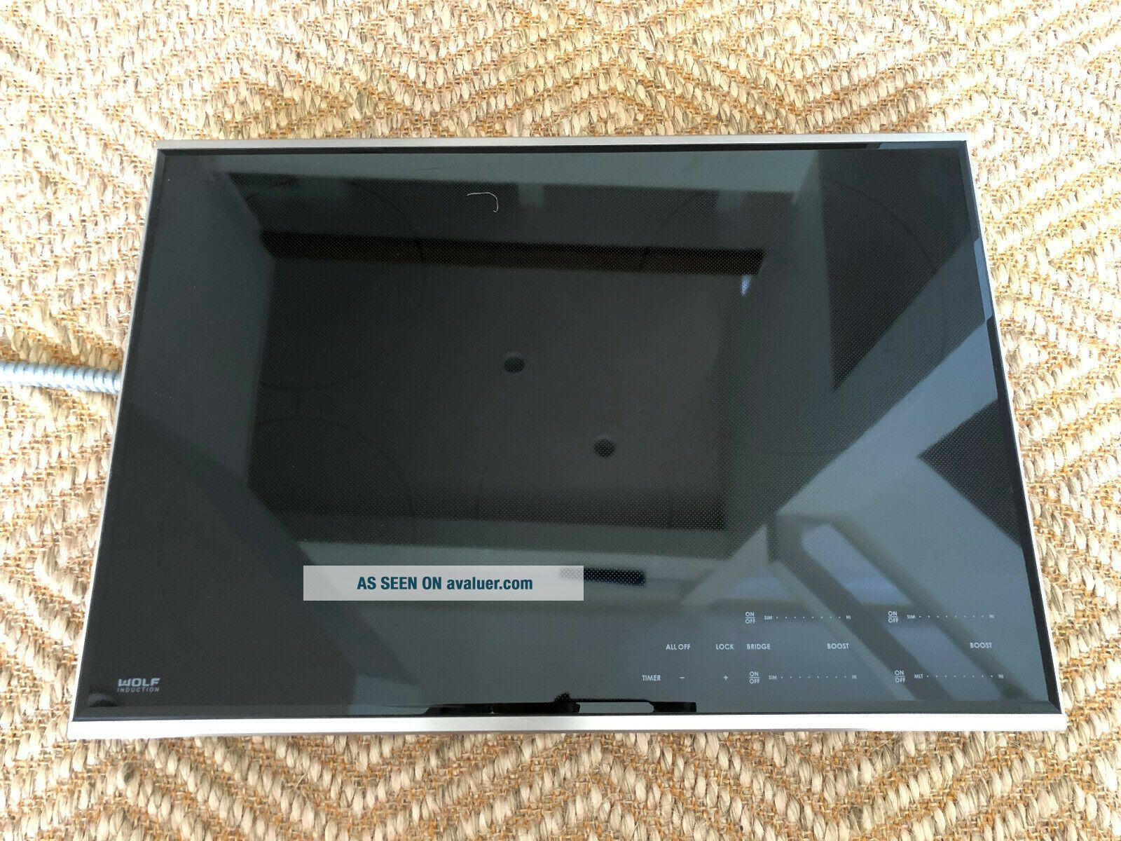 Wolf CI304T/S Induction Cooktop - Black - Rarely.  In
