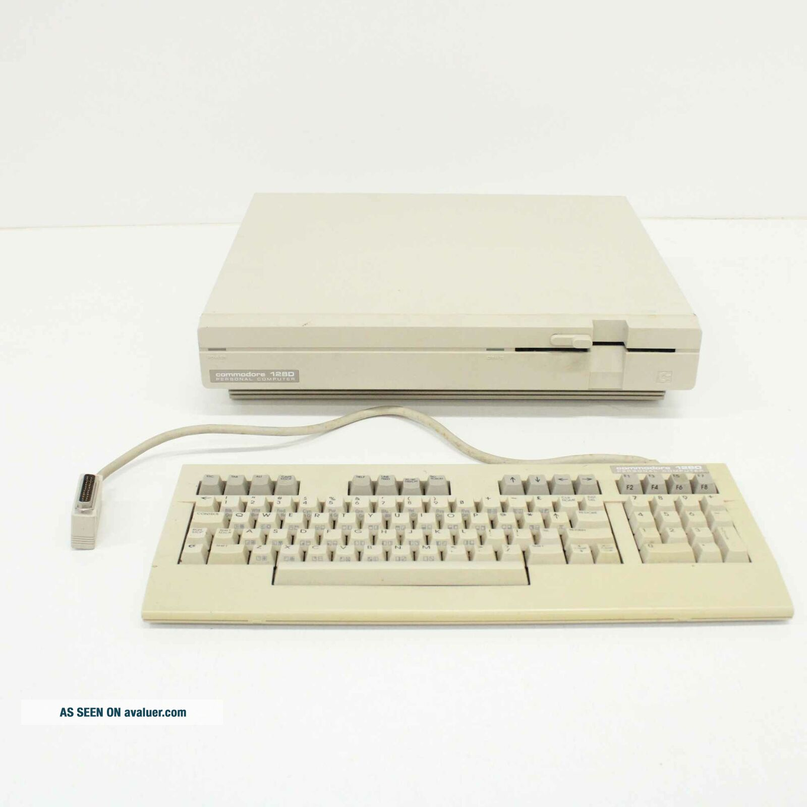 Vintage Commodore 128D Personal Computer with 128D Keyboard 452