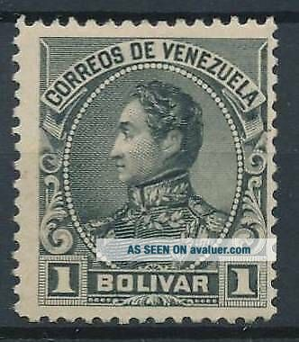 [3377] Venezuela 1902 RARE stamp very fine MH value $7000.  Signed