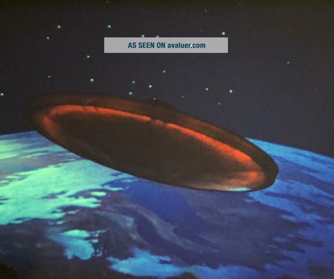 16mm Orig - RARE 1968 UFO - SCI - FI FEATURE - STUNNING COLOR