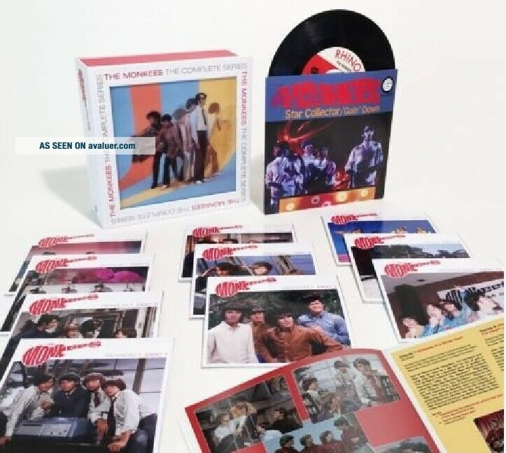 THE MONKEES COMPLETE TV SERIES BLU - RAY,  NO LONGER AVAILABLE,  RARE,  OOP