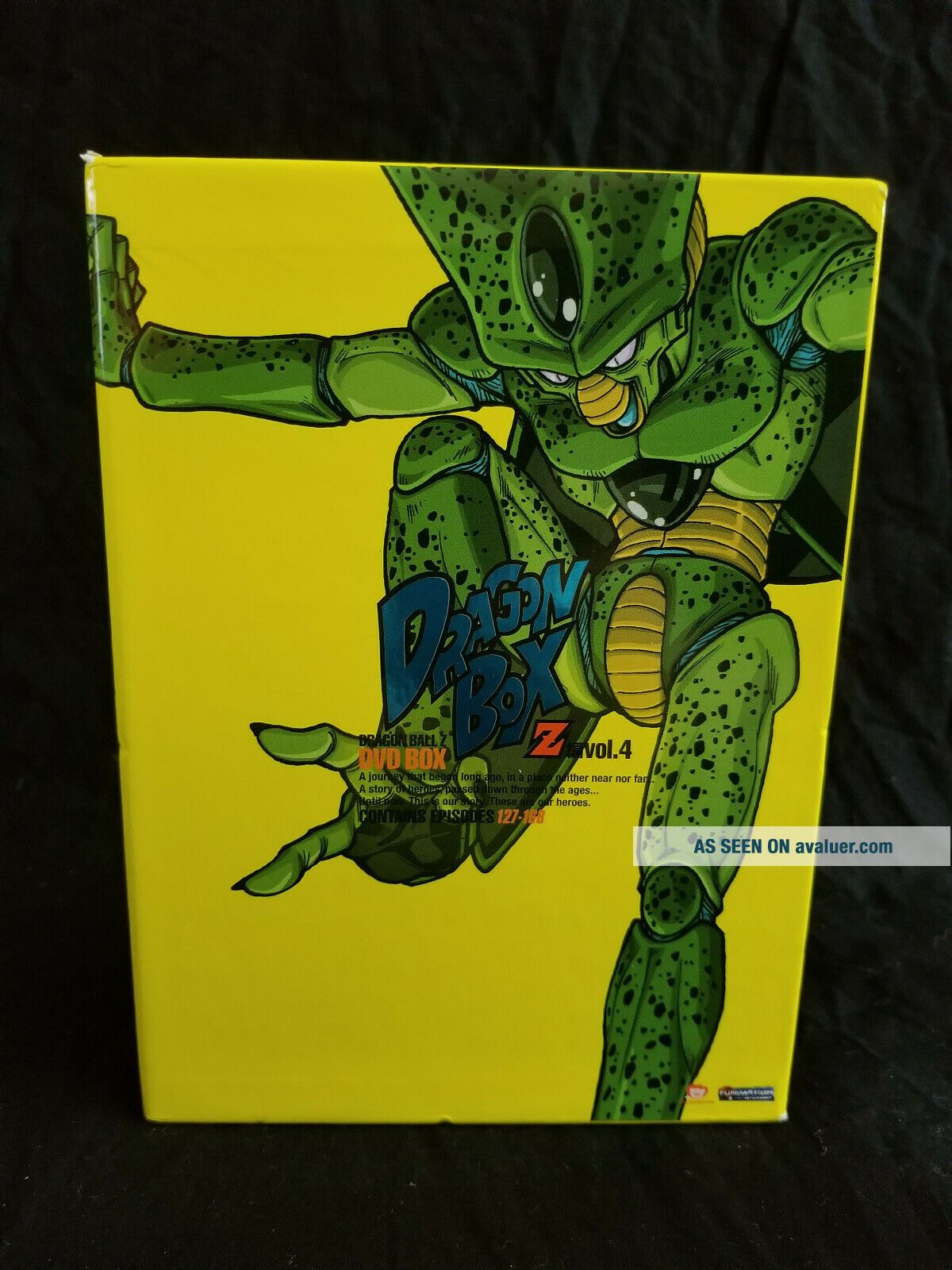 DragonBall Z: Dragon Box,  Vol.  4 (DVD,  2010,  6 - Disc Set) RARE Hard to find