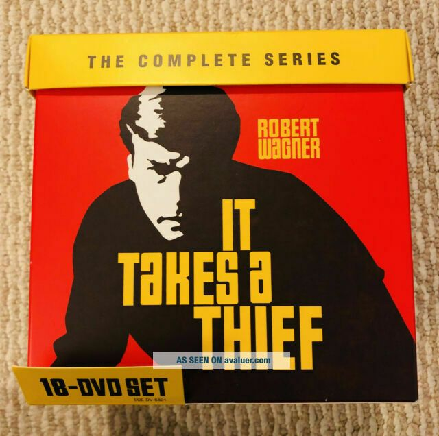 It Takes A Thief: The Complete Series DVD Set.  RARE FIND