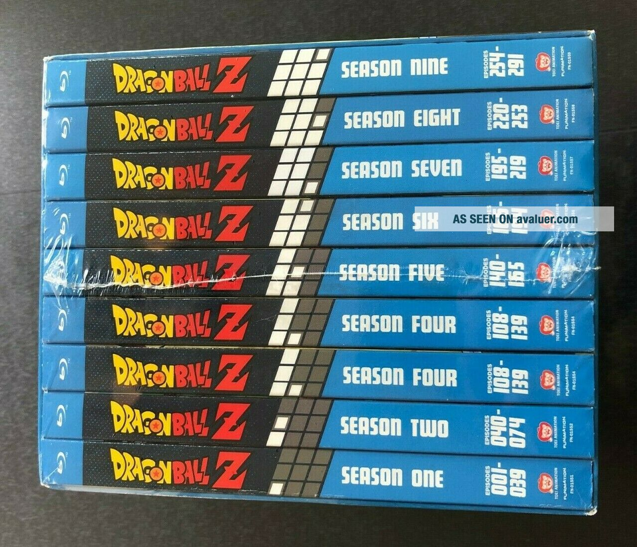 Dragon Ball Z: Seasons 1 - 9 Blu - ray Box Set COMPLETE SERIES Rare & Out of Print